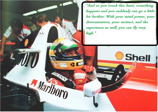Inspiration Legend Is The One And Only Ayrton Senna Blog