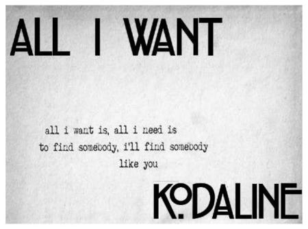 All_I_Want_Kodaline