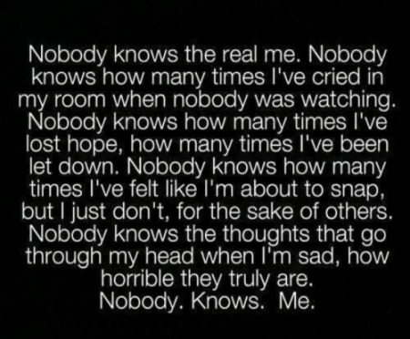 NobodyKnows